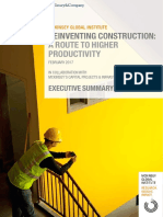 MGI Reinventing Construction Executive Summary