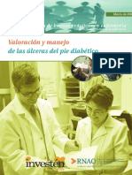 Guia de Buenas Practicas en Enfermeria. Valoracion y Manejo de Ulceras Del Pie Diabetico. 2011
