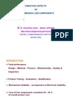 Vibration Aspects of TL Engg.- CPRI