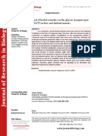 Anti-Diabetic potential of herbal remedies on the glucose transport gene (GLUT) in liver and skeletal muscles