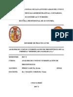 Análisis de Costos y Formulación de Presupuestos de La Empresa Agrícola Maíz Sagrado S.a. Último (1)