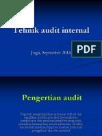 PP. Tehnik Audit Internal