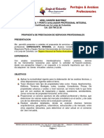 Propuesta Integral Servicios Profesionales