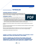 Manuale Scommesse Totocalcio Totogol
