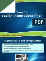 Sesión Integradora Final