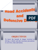Road Accidents Defensive Drive.
