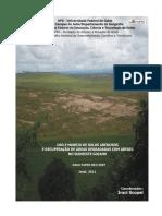 Ufg - Uso e Manejo de Solos Arenosos e Recuperação de Areas Degradadas Com Areais No Sudoeste Goiano