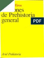 Nociones de Prehistoria General I