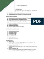 Informe Planificacion de Transporte -  Transportes
