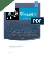 Informe Financiero El Manantial Final--