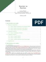 Functions ExercisesPublic