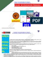 Programa Curricular de Primaria 5 Grado
