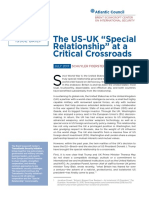 """The US-UK """"Special Relationship"""" at a Critical Crossroads"""