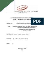 Derecho Municipal Legislacion