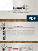 SUNARP ppt