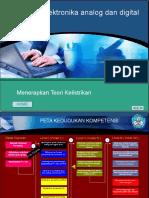 Slide KK01 Modul Menerapkan Teknik Elektronika Analog Dan Digital Dasar New