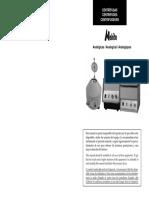 Manual Centrifuga Analoga