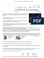 India Shines Brighter on NASA Map, China Feels Slighted