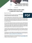Boletín 001 País Con Nuevo Rumbo