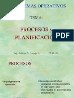 Procesos y Planificacic3b3n de Los Sistemas Operativos