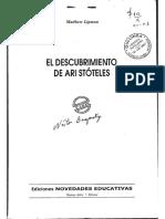 6.el descubrimiento de ari stóteles.pdf