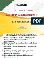 Auditoría Gubernamental II - Semana 06