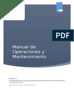 Manual de Operaciones y Mantenimiento