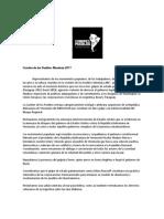 """Maduro, CFK y el pedido de libertad para Milagro Sala fueron los ejes de la """"contracumbre"""""""