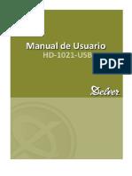 Manual Hd1021usb