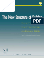 Nij-The New Structure of Policing-Description, Conceptualization and Research Agenda