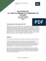 Relatoria 3er Foro Colombiano Gobernanza Internet 2016