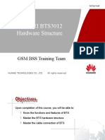 3. HUAWEI BTS3012 Hardware Structure