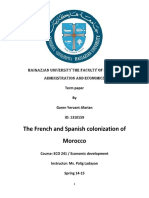 Colonization of Morocco