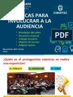 S9-Técnicas Para Involucrar a La Audiencia - HHCCI- 2017-I