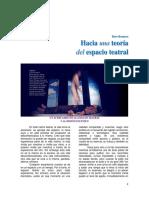 Beto Romero - Hacia Una Teoría Del Espacio Teatral