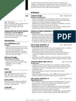resume - updated