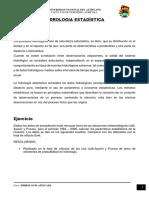 Distribucion de Probabilidad Teorica de Rio Azangaro