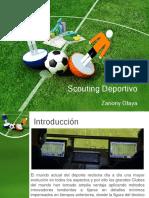 Diapositivas. Scouting y Análisis en El Fútbol