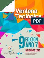 Ventana Teológica Edición 9 - Diciembre 2016