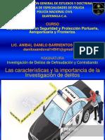 Caracteristicas y Pasos de La Inv. Criminal
