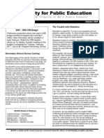 Newsletter Jan 2005