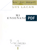 Lacan Jacques - Mi Enseñanza