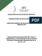 Disposiciones Generales 2016-17