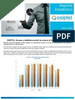 Reporte Estadistico OSIPTEL 2016 Perú