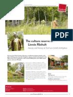 The Culture Reserve of Linnés Råshult