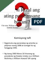 Rizal Presentation
