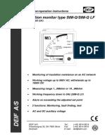 SIM-Q, Installation Instructions 4189330016 UK