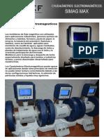 Caudalimetros Electromagneticos SIMAG MAX