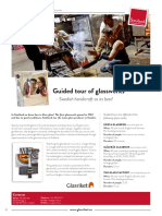 Guided Tour of Glassworks