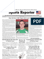 July 21, 2010 Sports Reporter